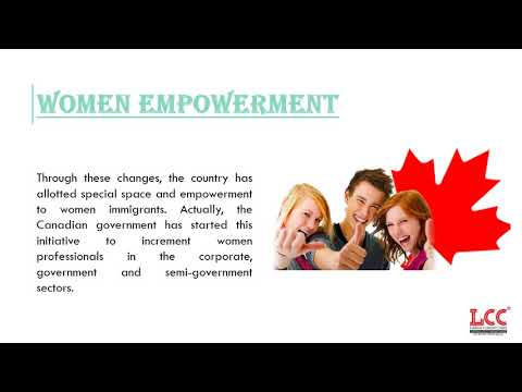 Women Wants immigration To Canada THEN Choose lccinfotech