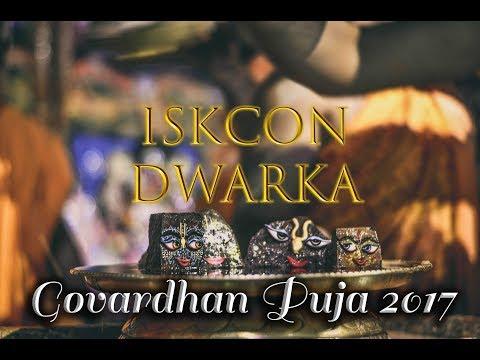 Highlights of Govardhan Puja Festival 2017 - ISKCON DWARKA