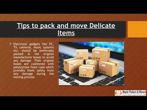 Tips to Pack Delicate items for Relocating