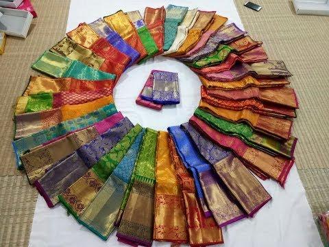 High Range Kanchipuram Bridal Silk Sarees - Sri Madheswaran SIlk Sarees Shop - 9944576613