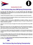 San Francisco Bay Area IOM Spring Championship NOR
