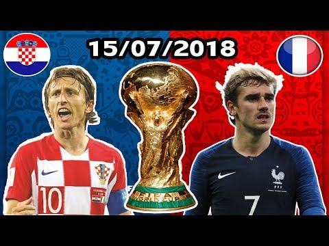 France Vs Croatia World Cup 2018 Final , Erverything About The Match ...
