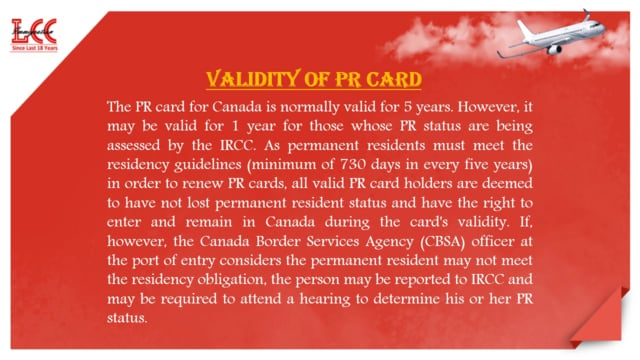 Check the Procedure to Apply for PR Card Canada
