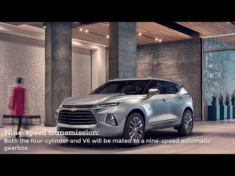 2019 Chevrolet Blazer Preview and  Features