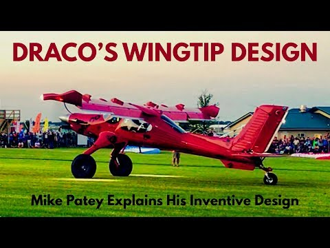 Mike Patey DRACO (Wilga) Wingtip Design