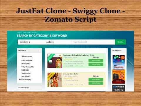 JustEat Clone   Swiggy Clone   Zomato Script