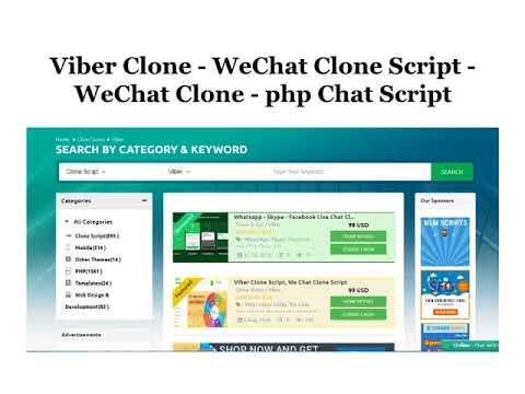 Viber Clone   WeChat Clone Script   WeChat Clone   php Chat Script