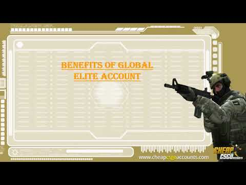 How Global Elite Account is beneficial for a CSGO Player?