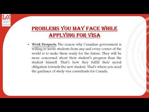 Why you need to hire the study visa consultants for Canada?