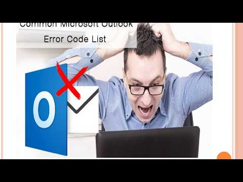 Microsoft Outlook Error Code List and Solutions with GetHumanHelp