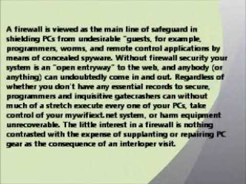 What Is A Home Network Hardware Firewall             TOLL FREE 1-855-406-0666