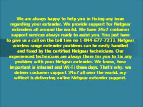 Netgear Routers & Extender support