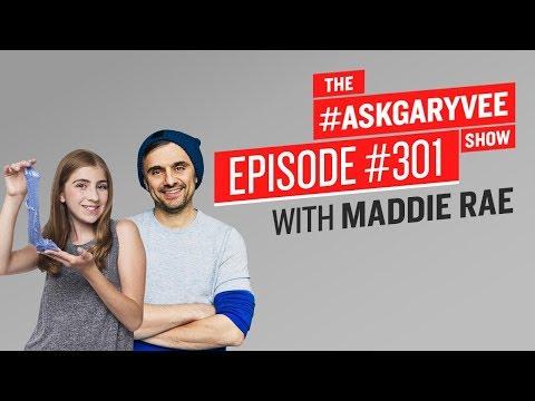How Teenagers Are Making Money Selling Slime | #AskGaryVee 301 With Maddie Rae