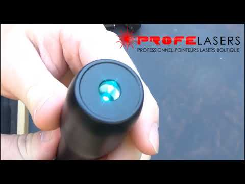 Pointeur Laser Cyan Vidéo