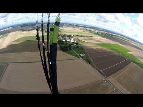 1er vol parapente Franck
