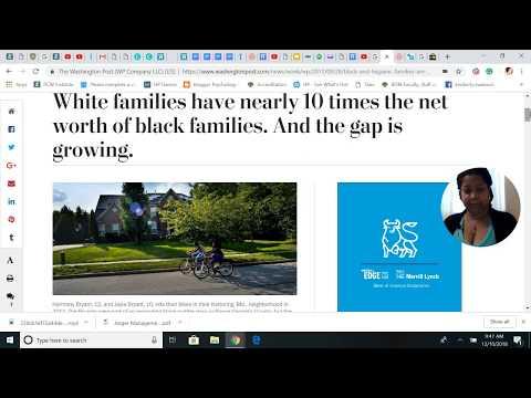 Wealth Gap Between American Aborigines (AKA African Americans) and Caucasians