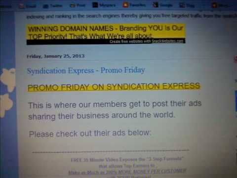 Syndication Express - Promo Friday