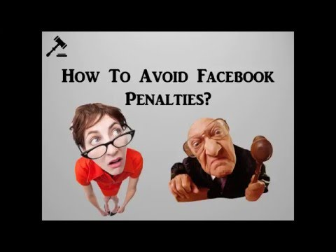 How To Avoid Facebook Penalties, staying out of Facebook Jail!