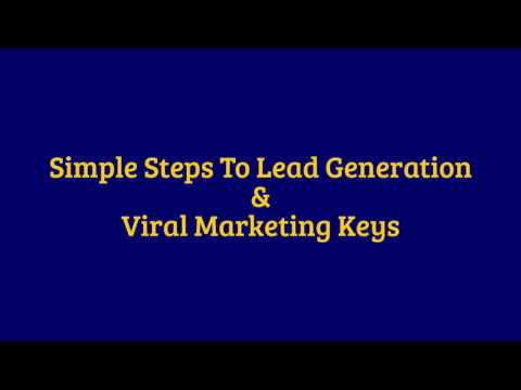 A Simple Lead Generation Tips.