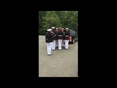My Father's Honors: Marine Corps Body Bearers with Taps