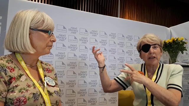Next Library 2017 - Voxpop: Lesley Bradshaw & Allison Wren