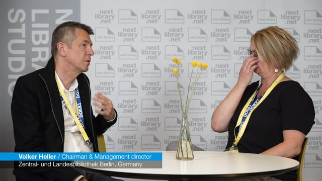 Next Library 2017 - Interview with Volker Heller
