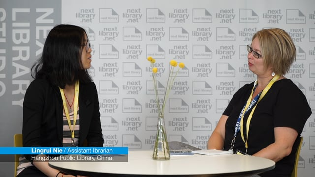 Next Library 2017 - Interview with Lingrui Nie