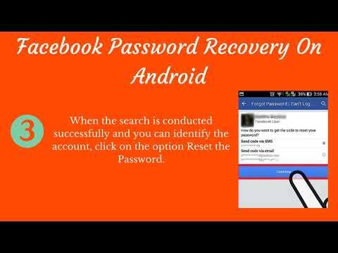 How To Recover Facebook Password With Email ID