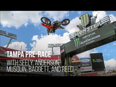 Tampa Supercross Pre-Race
