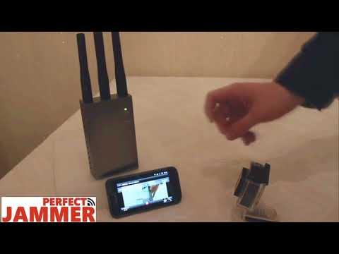 RF Wireless Video Monitoring Jammer