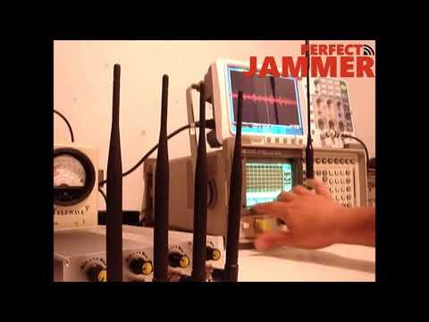 WiFi Cell Phone Signal Jammer Effect Test
