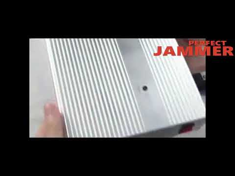 4 Bands High Power Remote Control Cell Phone Jammer