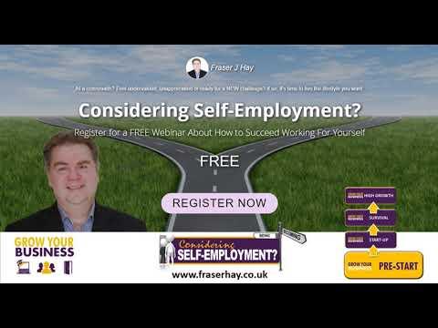 FREE Webinar: Considering Self-Employment?