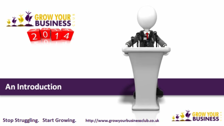 Introduction to Grow Your Business® Club