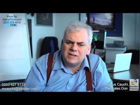 Sales Episode 10:  Marcus Cauchi - Inconsistency