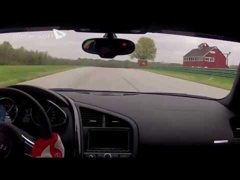Audi R8V10 warmup at VIR