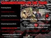 America in the  Middle East l Commentaries On the Times  3/21/13