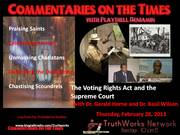 Commentaries On The Times Radio with Playthell Benjamin