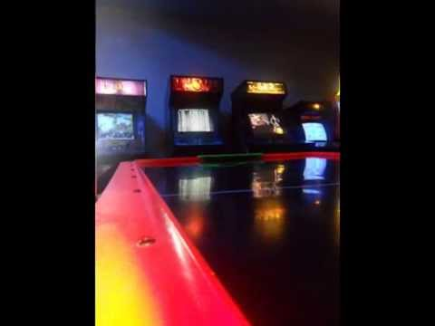 VIDEO ARCADE GAME ROOM AT COSTA RICA'S CALL CENTER