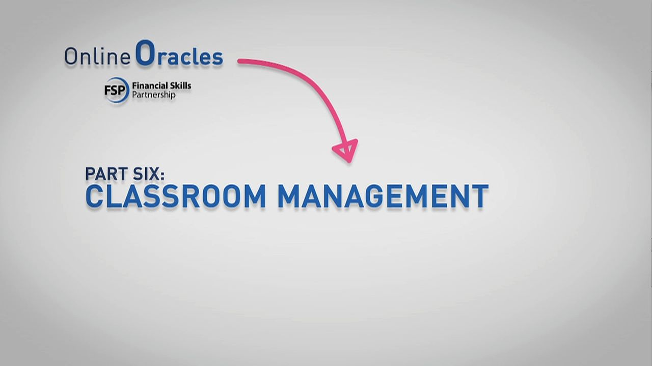Online Oracles: 6 Classroom management