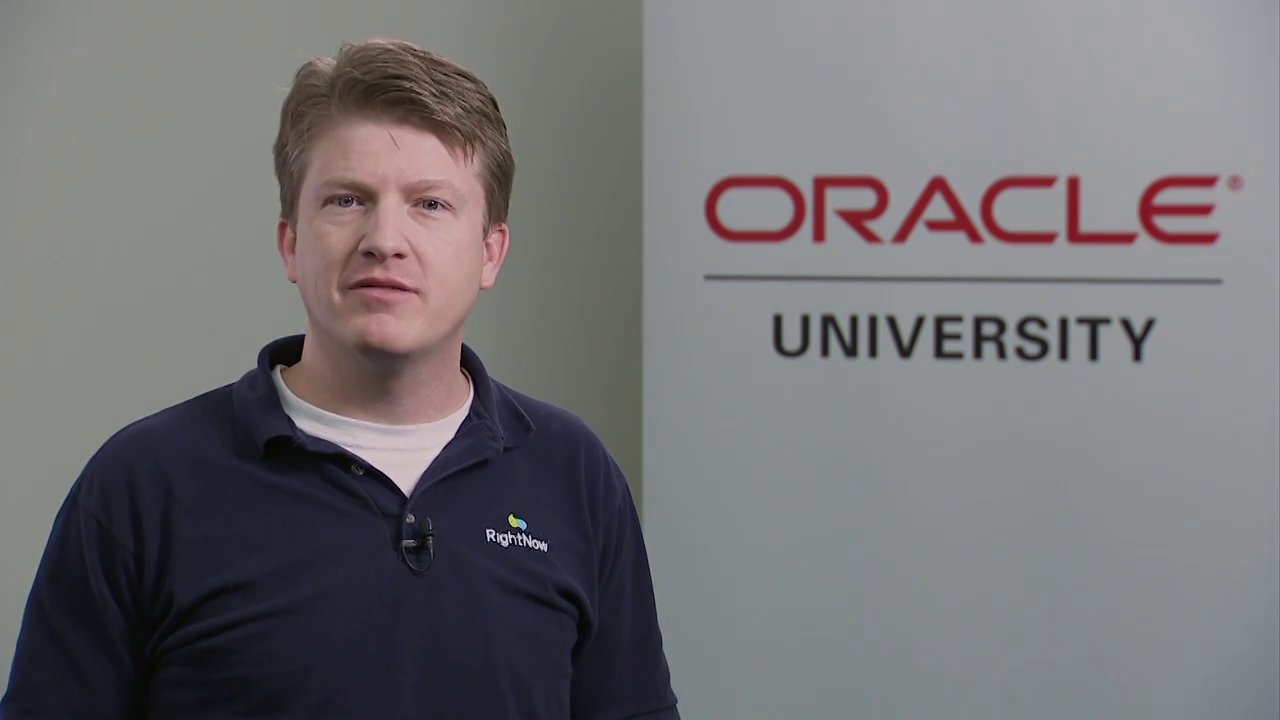 Oracle RightNow Training on Demand Instructor Intro