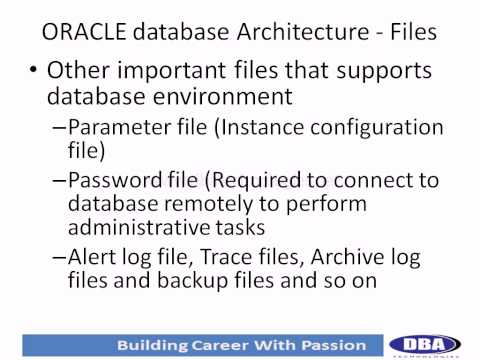 Oracle database architecture (1) - What is Oracle Server and database