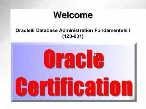 Oracle dba Tutorial 01- Introduction (F1)