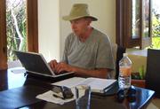 John Writing the Book