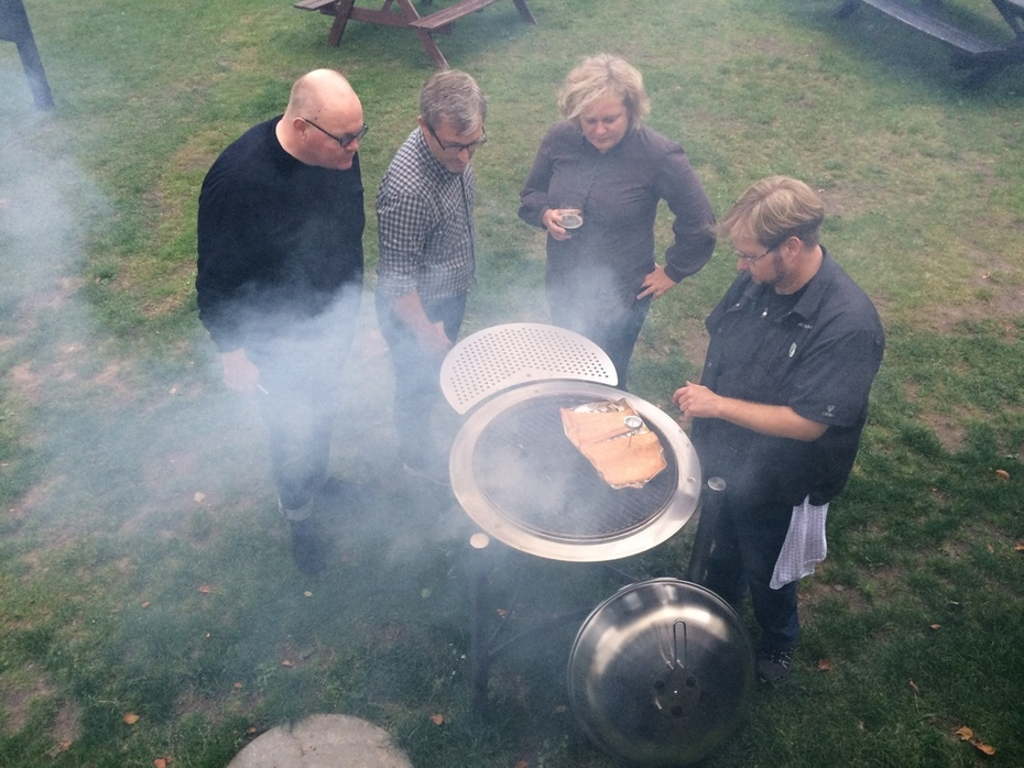 Network Conference 2015 - Smoking Salmon