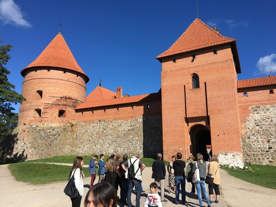 Trakai Castle, autumn meeting 2016