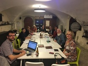 Board-meeting at the Estonian History Museum