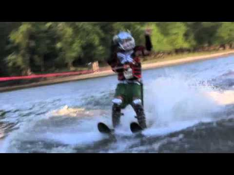 Awesome!  Trident waterski fishing!