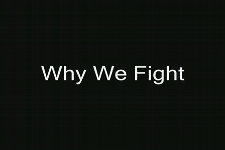 Why We Fight - Dedication to 3rd PLT