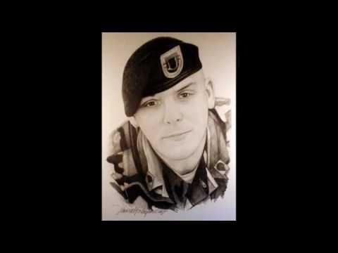 Fallen Heroes 1 - Michael Reagan Iraq afghan Afghanistan was pencil art fallen heroes